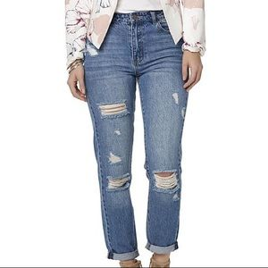 Denim - NWT Distressed Blue Jeans